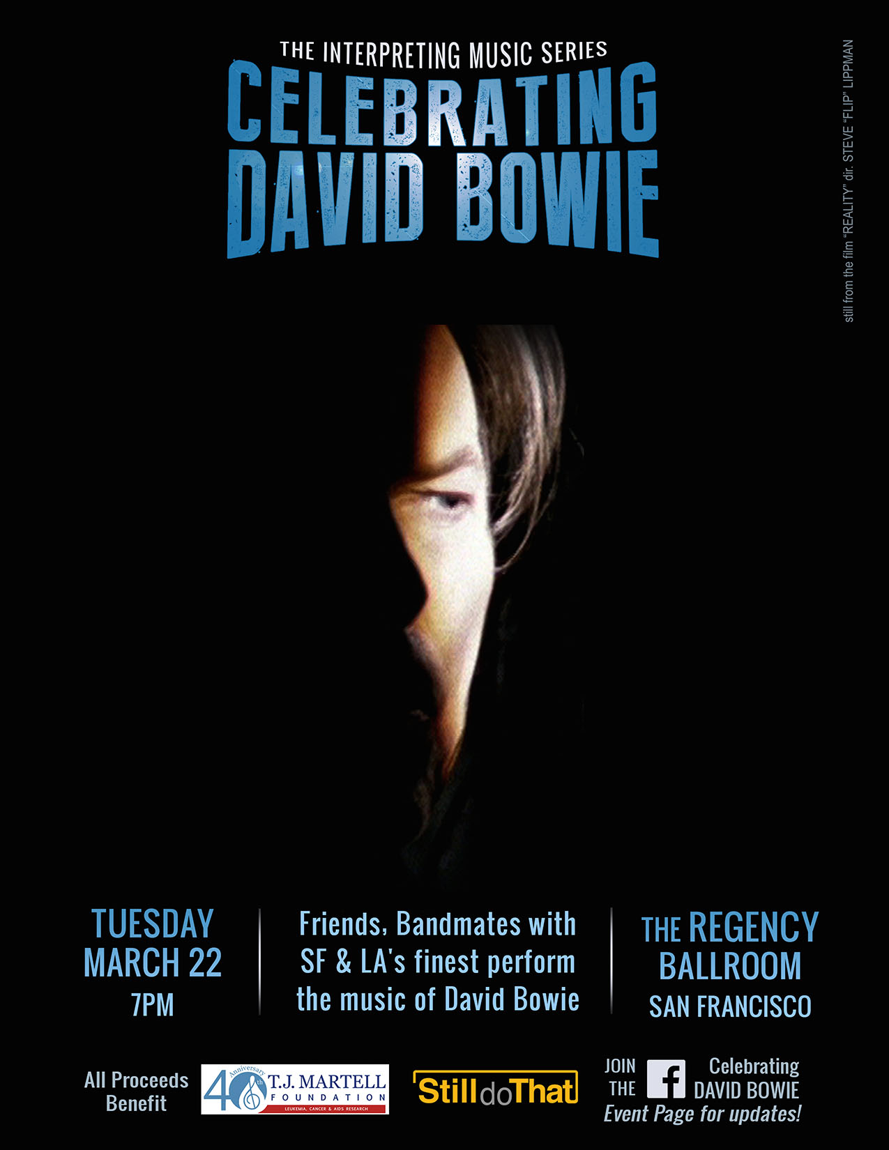Dan Celebrating DavidBowie flyer TJM (1)