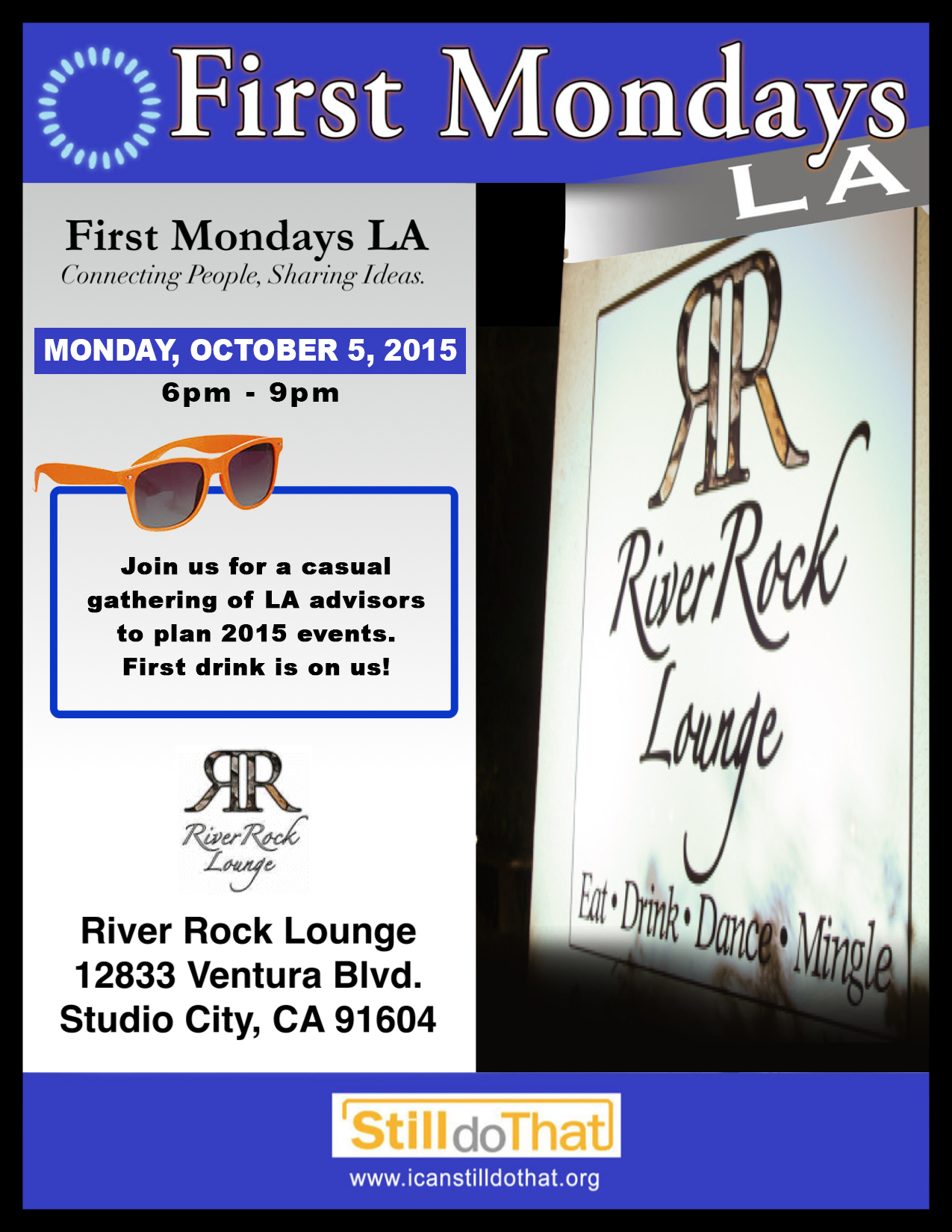 First Mondays Oct RRL
